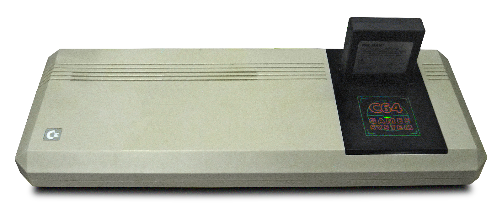 El Commodore 64 Games System, dedicado exclusivamente a jugar.